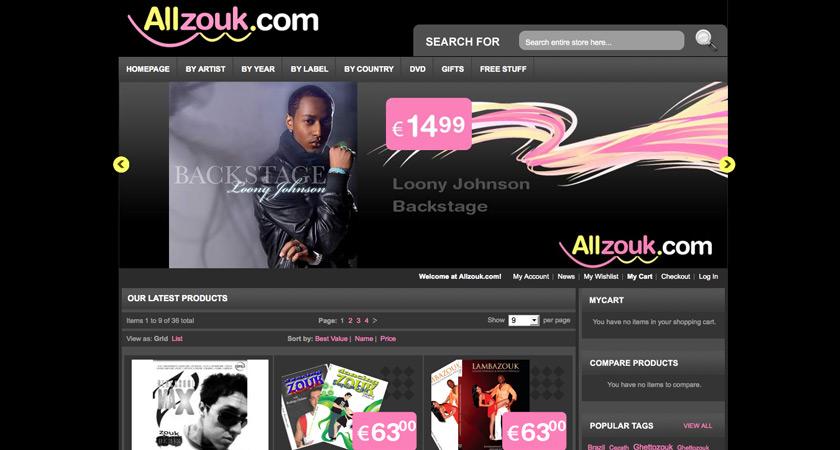 Webstore: Allzouk.com