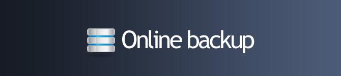 Online backup V2010