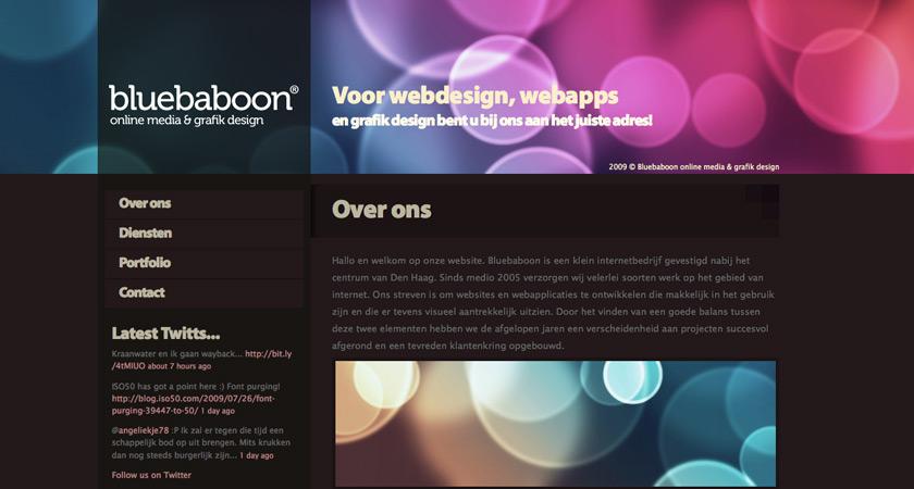 Bluebaboon grafik design