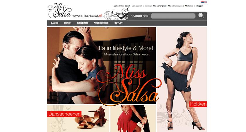 Webstore: Miss Salsa