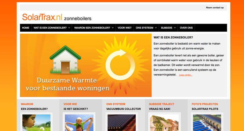 Solartrax zonneboilers